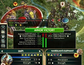 Civilization V - Zulu Impi against Naresuan Elephant