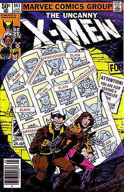 Uncanny X-Men #141: Days of Future Past