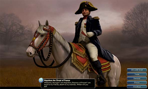 Civilization V - Napoleon's introduction