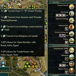 Civilization V - guaranteed theme bonuses