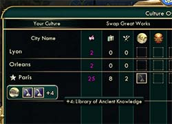 Civilization V - immortal Great Library