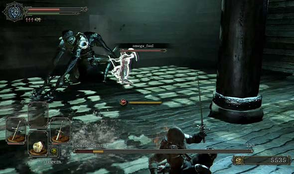 Dark Souls II - Flexile Sentry is easy
