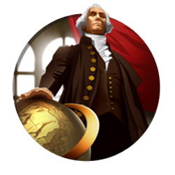 Civilization V - George Washington, leader of the American civilization
