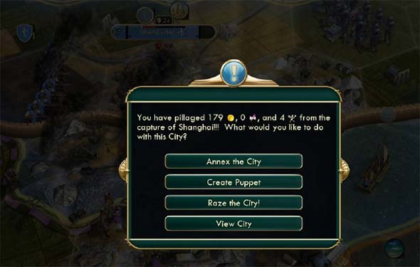 Civilization V - capturing great works