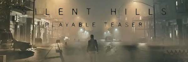 Silent Hills - playable teaster title