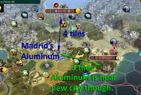 Civilization V - new city in owned territory