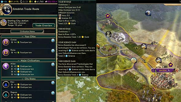 Civilization V - no diversity bonus