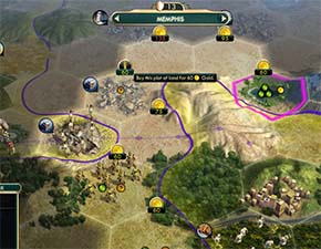 Civilization V - If Memphis can buy one of the stone