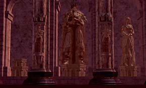 Dark Souls - Anor Londo missing statue