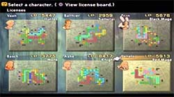 Final Fantasy XII - license boards