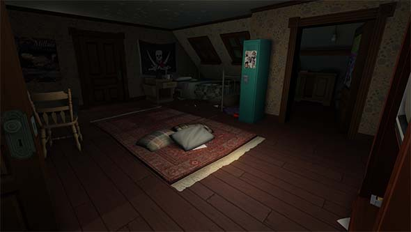 Gone Home - Sam's room