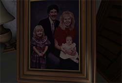 Gone Home - family photo