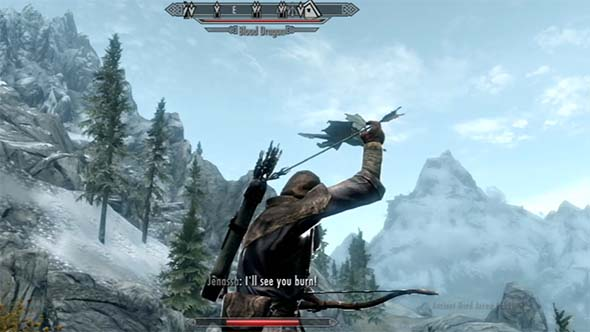 Skyrim - ranged weapons