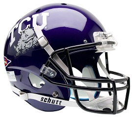 TCU - football helemt