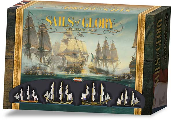 Sails of Glory : box