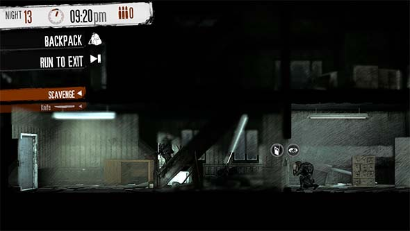 This War of Mine - line of sight