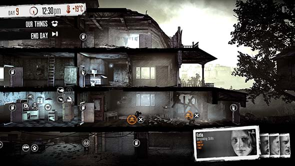 This War of Mine - shelter