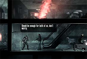 This War of Mine - friendly supermarket raiders