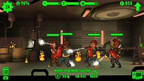 Fallout Shelter - fire!
