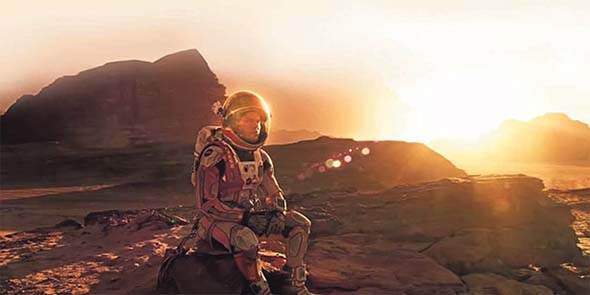 The Martian - stranded on Mars