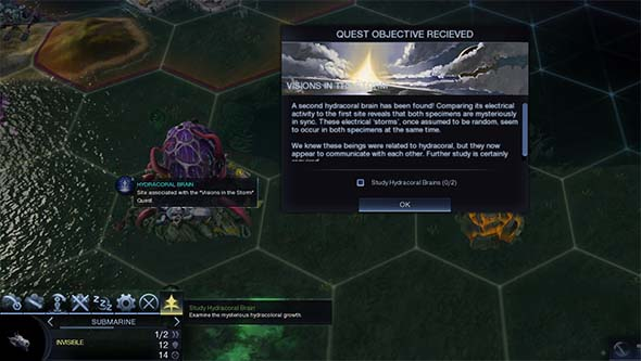 Civilization Beyond Earth: Rising Tide - hydrocoral brain research