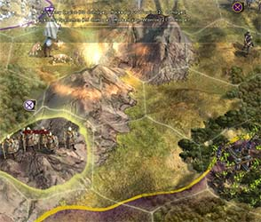 Civilization V - mountain attrition
