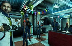Fallout 3 - birthday in vault 101