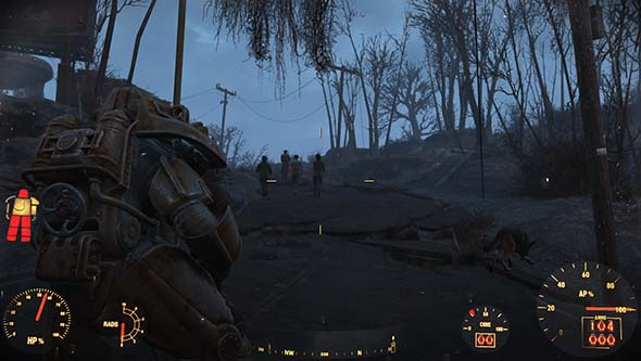 Fallout 4 - Power Armor and minutemen