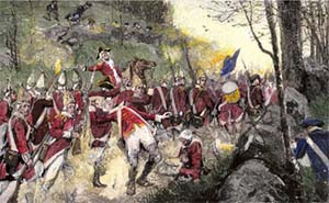 British retreat from Concord (1775)