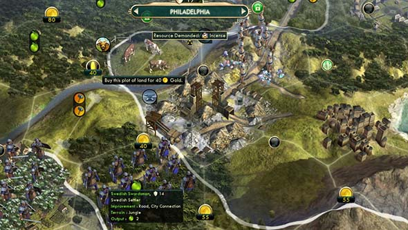 Civilization V - blocking enemy movement