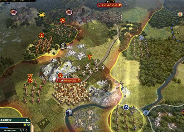 Civilization V - Manifest Destiny recon