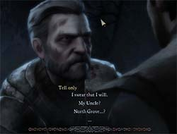 Game of Thrones Telltale series - moving subtitles