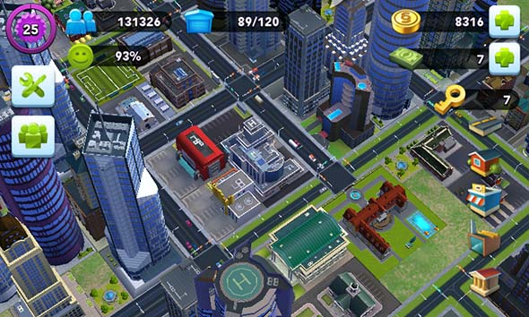 SimCity Buildit - city