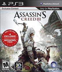 Assassin's Creed III - box art