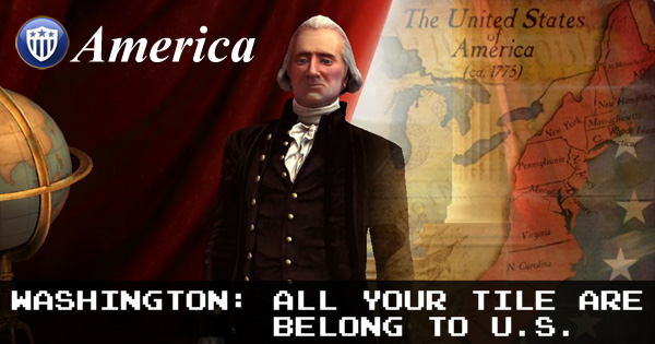 Civilization V - George Washington of America