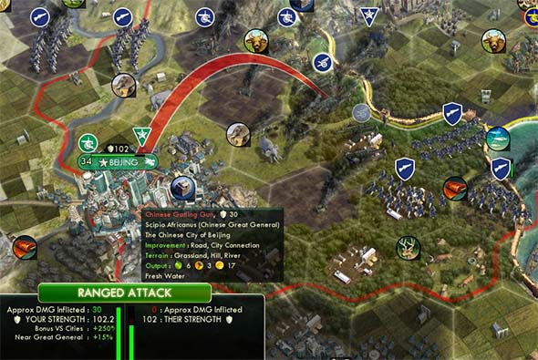 how to send production to other cities civ 5