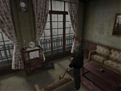 silent hill 2 james tv