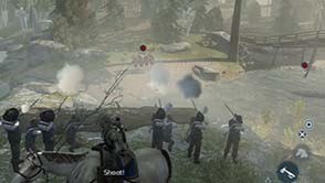 Assassin's Creed III - Concord bridge skirmish