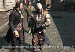 Assassin's Creed III - Sam Adams' slaves