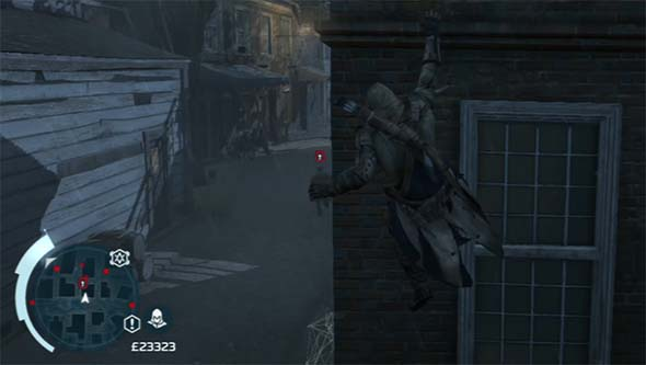 Assassin's Creed III - missing an alley way