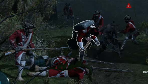 Assassin's Creed III - melee fighting