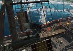 Assassin's Creed IV: Black Flag - stalking from rigging