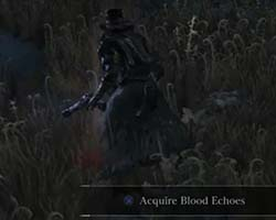 Bloodborne - blood stain