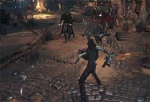 Bloodborne - backstep transform attack