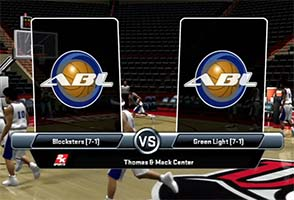 ESPN College Hoops 2k8 - ABL game