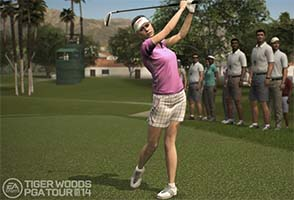 Tiger Woods PGA Tour 16 - woman golfer