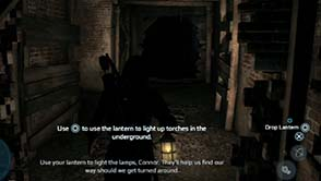 Assassin's Creed III - tunnel tutorial