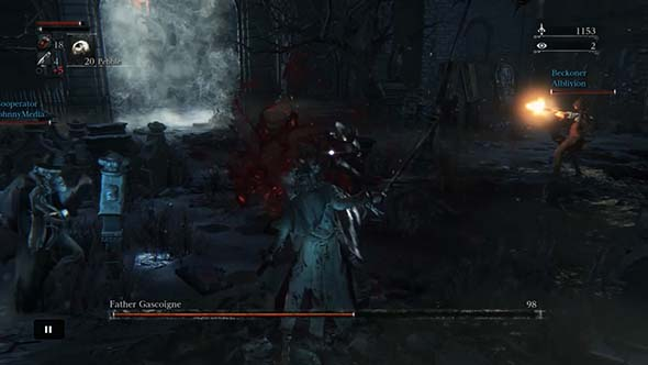 Bloodborne - jolly cooperation