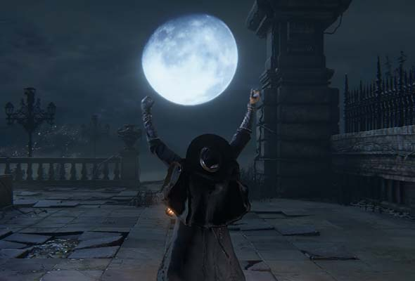Bloodborne - praise the moon
