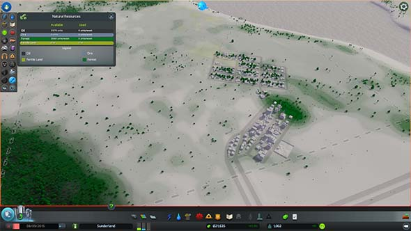 Cities Skylines - natural resource info